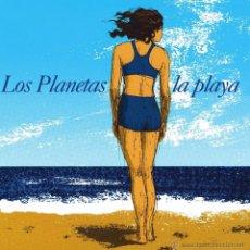 Discos de vinilo: SINGLE LOS PLANETAS LA PLAYA VINILO. Lote 173046299