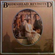 Discos de vinilo: RETORNO A BRIDESHEAD, BRIDESHEAD REVISITED - MÚSICA POR GEOFFREY BURGON - LP USA CON FUNDA INTERIOR. Lote 52490191