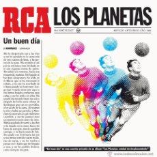 Discos de vinilo: SINGLE LOS PLANETAS UN BUEN DIA VINILO. Lote 210183180
