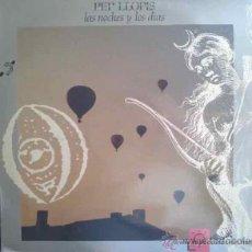 Discos de vinil: PEP LLOPIS, LAS NOCHES Y LOS DÍAS - DOBLE LP, 2 LP'S. Lote 26001556