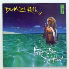 Discos de vinilo: DAVID LEE ROTH - 'CRAZY FROM THE HEAT' (EP VINILO. CARPETA INTERIOR. ORIGINAL 1985. USA). Lote 52496538