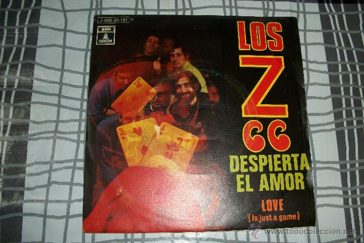 LOS Z 66 - DESPIERTA EL AMOR + LOVE - SINGLE 1970 - PROMO - MUY BUEN ESTADO !!!-ODEON 1970 (Música - Discos - Singles Vinilo - Grupos Españoles de los 70 y 80)