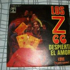 Discos de vinilo: LOS Z 66 - DESPIERTA EL AMOR + LOVE - SINGLE 1970 - PROMO - MUY BUEN ESTADO !!!-ODEON 1970. Lote 52497504