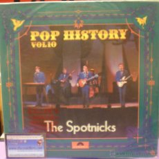 Discos de vinilo: THE SPOTNICKS - POP HISTORY VOL. 10 - DOBLE LP RECOPILATORIO (GATEFOLD SLEEVE) - ED ESPAÑOLA DE 1971. Lote 52499085