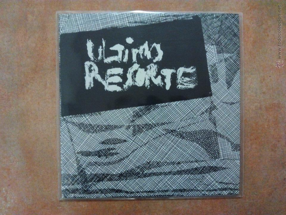 ULTIMO RESORTE. CEMENTERIO CALIENTE EP - RADIKAL 77 - REEDICIÓN - SPANISH PUNK - SINIESTRO TOTAL - (Música - Discos de Vinilo - EPs - Punk - Hard Core)