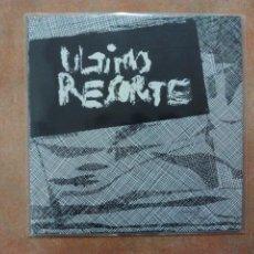 Discos de vinilo: ULTIMO RESORTE. CEMENTERIO CALIENTE EP - RADIKAL 77 - REEDICIÓN - SPANISH PUNK - SINIESTRO TOTAL -. Lote 60005178