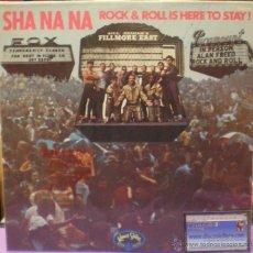 Discos de vinilo: SHA NA NA - ROCK & ROLL IS HERE TO STAY - EDICIÓN ESPAÑOLA DE 1970. Lote 52500168