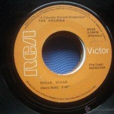 Discos de vinilo: SINGLE SIN CARATULA THE ARCHIES SUGAR SUGAR RCA 69. Lote 52510614