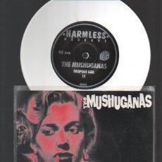 Discos de vinilo: THE MUSHUGANAS - EP DROPOUT GIRL - 1995 - VINILO BLANCO SOLO 106 COPIAS EDITADAS - INCLUYE IN-SERT. Lote 52520337