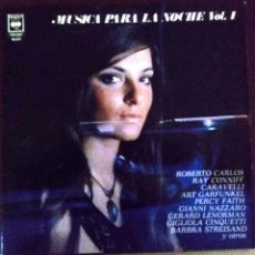 Discos de vinilo: LP ARGENTINO DE ARTISTAS VARIOS MÚSICA PARA LA NOCHE VOLUMEN 4 AÑO 1973. Lote 52520937