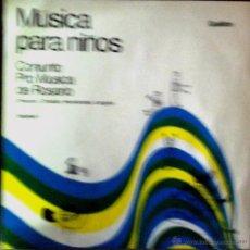 Discos de vinilo: LP ARGENTINO DEL CONJUNTO PRO MÚSICA DE ROSARIO AÑO 1969. Lote 52522570