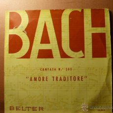 Discos de vinilo: BACH CANTATA N.203 ,AMORE TRADITORE,. Lote 52523589