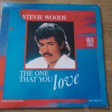Discos de vinilo: STEVIE WOODS.THE ONE. THAT YOU MAXI 12 . Lote 52528868