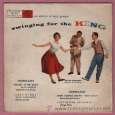 Discos de vinilo: RARO DISCO EP DE RALPH MARTIRIE - SWUNGING FOR THE KING . Lote 52534080