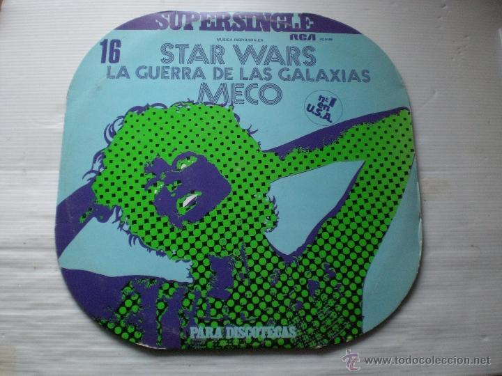 MECO - STAR WARS - LA GUERRA DE LAS GALAXIAS - MAXI RCA SPAIN 1977 EXCELENTE ESTADO (Música - Discos de Vinilo - Maxi Singles - Pop - Rock - New Wave Internacional de los 80)