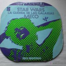 Discos de vinilo: MECO - STAR WARS - LA GUERRA DE LAS GALAXIAS - MAXI RCA SPAIN 1977 EXCELENTE ESTADO. Lote 52535714