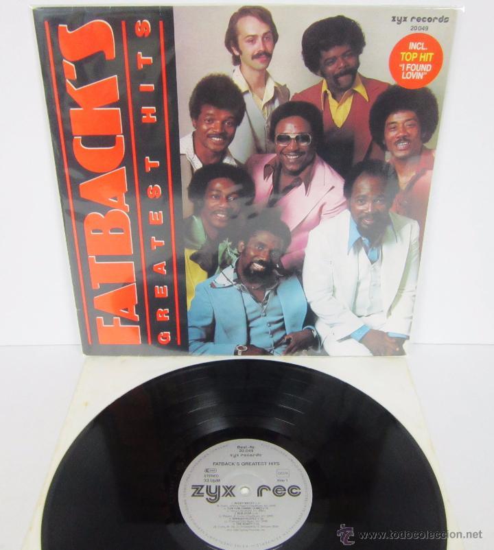 FATBACK - FATBACK'S GREATEST HITS - LP - ZYX RECORDS 1985 GERMANY (Música - Discos - LP Vinilo - Funk, Soul y Black Music)