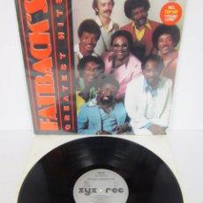 Discos de vinilo: FATBACK - FATBACK'S GREATEST HITS - LP - ZYX RECORDS 1985 GERMANY. Lote 52536982