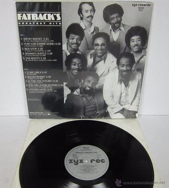 Discos de vinilo: FATBACK - FATBACK'S GREATEST HITS - LP - ZYX RECORDS 1985 GERMANY - Foto 3 - 52536982