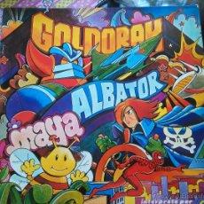 Discos de vinilo: ALBATOR CAPITAN HARLOCK GOLDORAK GRENDIZER CANDY CANDY ANIME LA ABEJA MAYA SPIDERMAN FRANCES. Lote 52538005