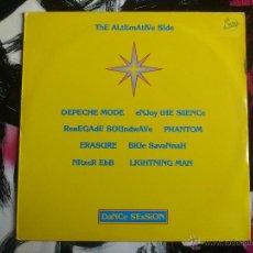 Discos de vinilo: THE ALTERNATIVE SIDE - DANCE SESSION - LP - VINILO - SANNI - 1990 - DEPECHE MODE - ERASURE - NITZER. Lote 52540071