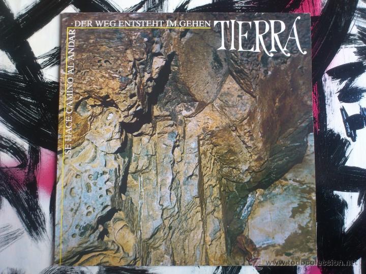 TIERRA - SE HACE CAMINO AL ANDAR - DER WEG ENTSTEHT IM GEHEM - LP VINILO - CASTOR - 1984 (Música - Discos - LP Vinilo - Pop - Rock - New Wave Extranjero de los 80)