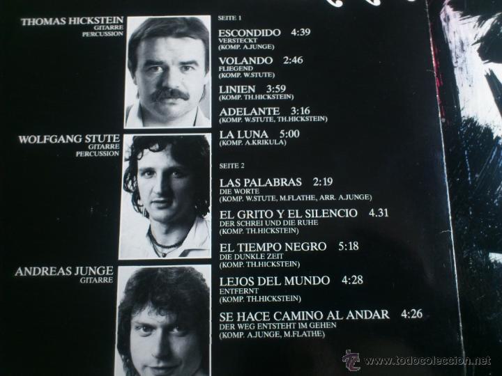 Discos de vinilo: TIERRA - SE HACE CAMINO AL ANDAR - DER WEG ENTSTEHT IM GEHEM - LP VINILO - CASTOR - 1984 - Foto 3 - 52540253