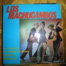 Discos de vinilo: LOS MACHUCAMBOS. LA MAMMA + 3. EP. ZAFIRO 1964. Lote 52540911