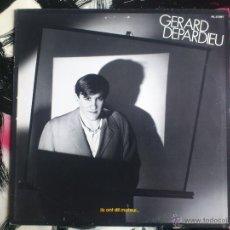 Discos de vinilo: GERARD DEPARDIEU - ILS ONT DIT MOTEUR... - LP - VINILO - RCA - 1980. Lote 52541042