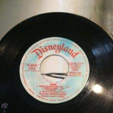 Discos de vinilo: 'BAMBI', DE DISNEY. CUENTO Y CANCIONES. AÑO 1967. SIN FUNDA, SÓLO DISCO.. Lote 52542957