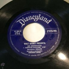 Discos de vinilo: 'LOS ARISTOGATOS', DE DISNEY. CUENTO Y CANCIONES. AÑO 1971. SIN FUNDA, SÓLO DISCO.. Lote 52543044