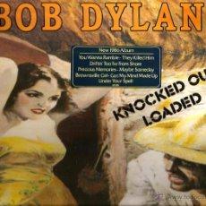 Discos de vinilo: LP BOB DYLAN : KNOKED OUT LOADED ( CON T. BONE BURNETT, AL KOOPER, RON WOOD, TOM PETTY, DAVE STEWART. Lote 52543352