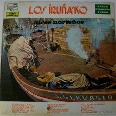 Discos de vinilo: LOS IRUÑA'KO - AIRES NORTEÑOS - SPAIN 1973. Lote 52545803