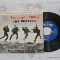 Discos de vinilo: THE BEATLES 7 EP TWIST AND SHOUT + 3 TEMAS (1963) PRIMERA EDICION ORIGINAL *BUENA CONDICION*. Lote 52545841