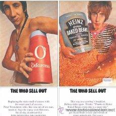 Discos de vinilo: LP THE WHO SELL OUT VINILO MOD + POSTER. Lote 165021864