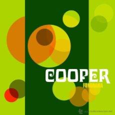 Discos de vinilo: LP COOPER FONORAMA VINILO ROJO LOS FLECHAZOS MOD. Lote 59886881