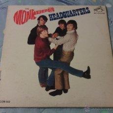 Discos de vinilo: LP VINILO THE MONKEES - HEADQUARTERS / RCA PRESS ORIG. USA 1967 / MONO COM 103 / VERY RARE!!!!!!!!!!. Lote 52556019