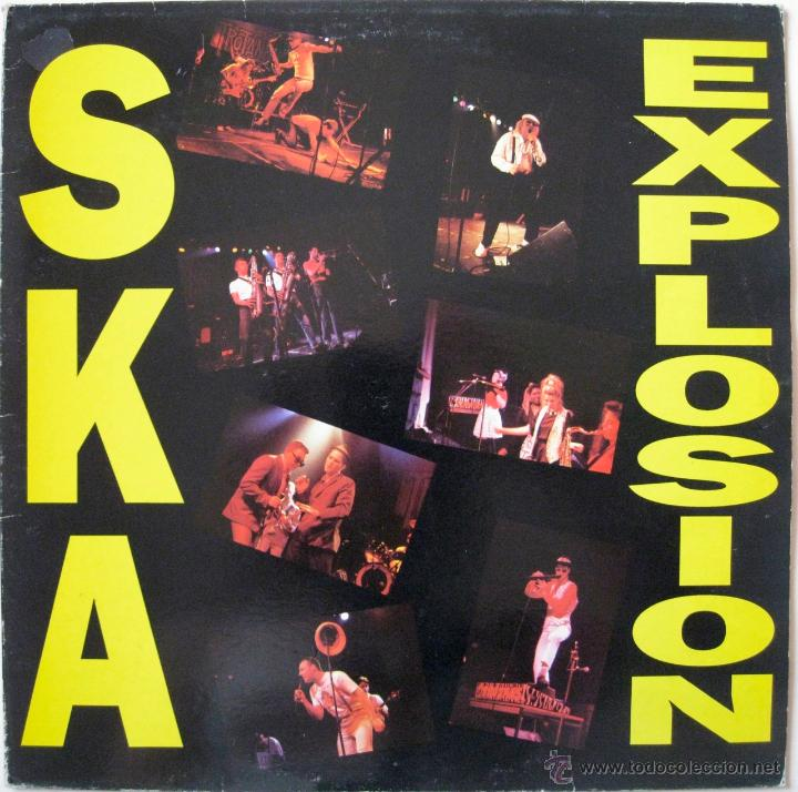 SKA EXPLOSION - UK 1989 (Música - Discos - LP Vinilo - Reggae - Ska)