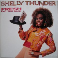 Discos de vinilo: SHELLY THUNDER ?– FRESH OUT THE PACK - EUROPE 1989 (RAGGA, DANCEHALL). Lote 52561141