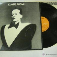 Discos de vinilo: LP KLAUS NOMI 1981 RCA VICTOR EDICION ESPAÑOLA SPAIN. Lote 52561759