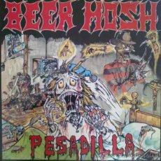 Discos de vinilo: BEER MOSH - PESADILLA - LP DE VINILO. Lote 27538404