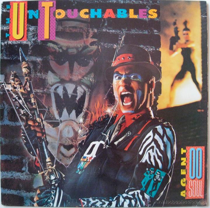 UNTOUCHABLES - AGENT DOUBLE O SOUL - US 1988 (Música - Discos - LP Vinilo - Reggae - Ska)