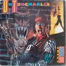 Discos de vinilo: UNTOUCHABLES - AGENT DOUBLE O SOUL - US 1988. Lote 52565097