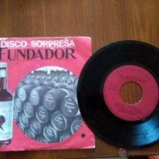 Discos de vinilo: ANA MARÍA LA JEREZANA - FIESTA FLAMENCA / ROSA MALENA / BODA EN EL CIELO - EP 1969 FUNDADOR. Lote 52565320