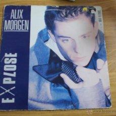Discos de vinilo: ALIX MORGEN. EXPLOSE CRI, SILENCE.MAXI 12. Lote 52569329