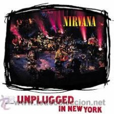 Discos de vinilo: NIRVANA - UNPLUGGED IN NEW YORK ( LP REEDICION ). Lote 52571040
