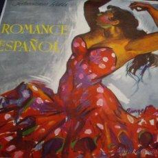 Discos de vinilo: ROMANCE ESPAÑOL-DISCOS BETIS ORIGINAL AÑOS 50-CANTAORES MUY RAROS-NIÑO DE CARAVACA,NIÑO D BRILLANTE. Lote 52573995