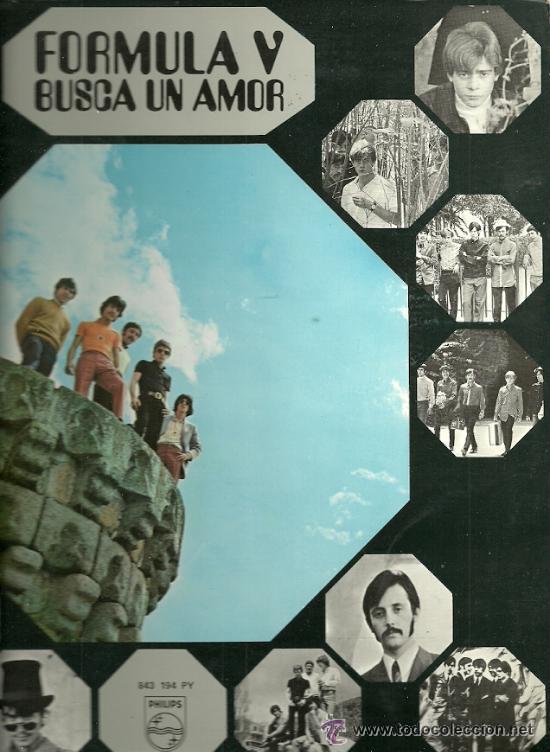 FORMULA V LP PORTADA DOBLE SELLO PHILIPS AÑO 1969 EDITADO EN ESPAÑA (Música - Discos - LP Vinilo - Grupos Españoles 50 y 60)