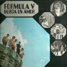 Discos de vinilo: FORMULA V LP PORTADA DOBLE SELLO PHILIPS AÑO 1969 EDITADO EN ESPAÑA. Lote 52581581