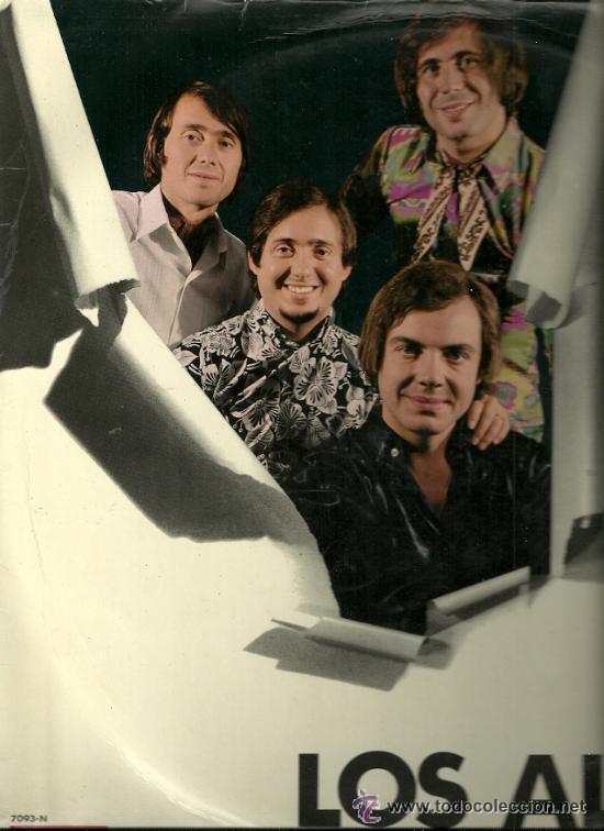 LOS ALBAS LP SELLO VERGARA AÑO 1969 EDITADO EN ESPAÑA (Música - Discos - LP Vinilo - Grupos Españoles 50 y 60)